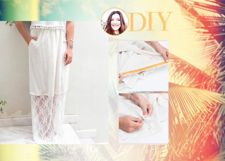DIY: Πως να φτιάξεις εύκολα την πιο τέλεια φούστα που δεν έχεις βρει ακόμα στα μαγαζιά   tlife.gr