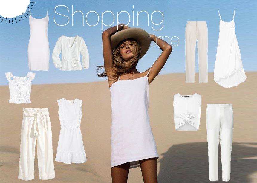 3c1540d41dd Οδηγός αγοράς: Λευκά τοπ, παντελόνια και φορέματα για ακόμα πιο εντυπωσιακό  καλοκαιρινό στιλ