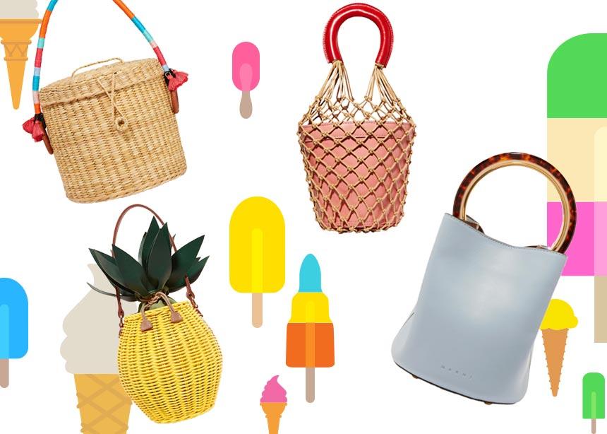 Bucket Bags: Οι πιο τέλειες επιλογές που θα ανανεώσουν το καλοκαιρινό σου look   tlife.gr