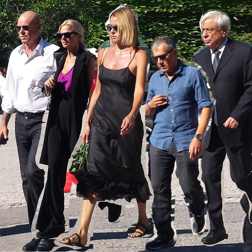 Ανείπωτη θλίψη στην κηδεία της Ρίκας Βαγιάνη – Πλήθος κόσμου στο τελευταίο αντίο [pics]   tlife.gr