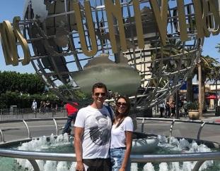 Αντώνης Σρόιτερ – Ιωάννα Μπούκη: Ο μήνας του μέλιτος στις Η.Π.Α και το δικό τους αστέρι στο Walk of fame! [pics] | tlife.gr