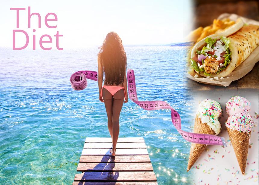 Δίαιτα με παγωτό, σουβλάκι και εύκολα φαγητά: Χάσε 5 κιλά το μήνα και απόλαυσε το καλοκαίρι όπως πρέπει