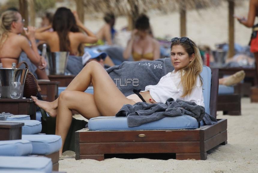 Αμαλία Κωστοπούλου: Απολαμβάνει τις βουτιές της στο Νησί των Ανέμων! [pics] | tlife.gr