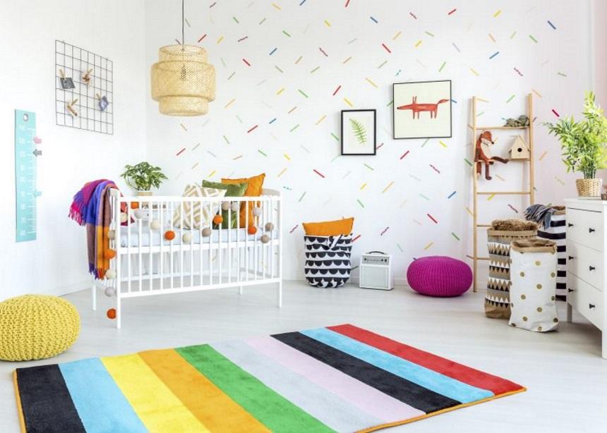 Διακοσμώντας το πρώτο του δωμάτιο: Οι τρεις μεγαλύτερες τάσεις στο baby room!