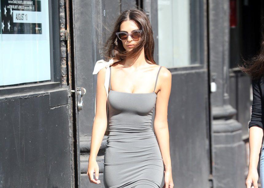 Το look της Emily Ratajkowski που θα αντιγράψουμε το ΣΚ (hint: τα ρούχα και τα αξεσουάρ τα έχεις) | tlife.gr