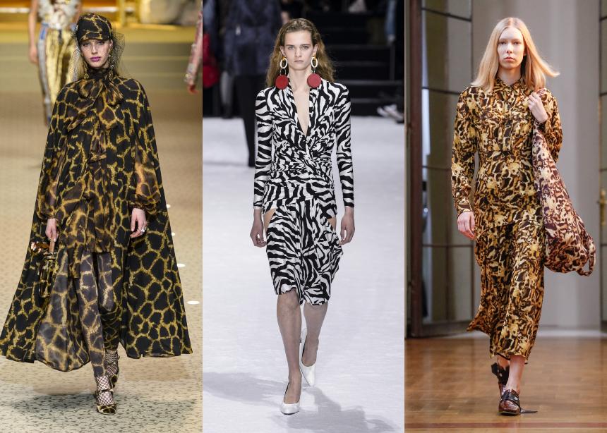 b0a3a51e5e5 Μπορεί τα animal prints να θεωρούνται extravagant, αλλά έχουν τη μαγική  ιδιότητα να δίνουν το παρών στα trends κάθε σεζόν. Έτσι και φέτος είδαμε  giraffe ...