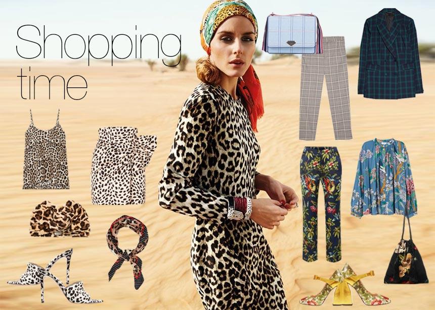 Tartan, leopard, floral: Ρούχα και αξεσουάρ με τα πιο stylish prints της σεζόν