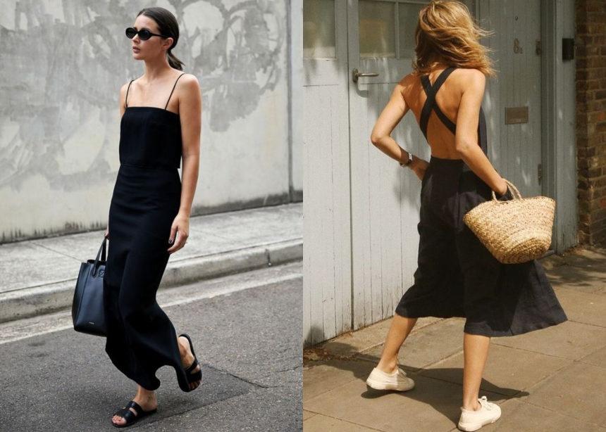 Μαύρο φόρεμα: Πως μπορείς να το αναδείξεις με καλοκαιρινό στιλ | tlife.gr