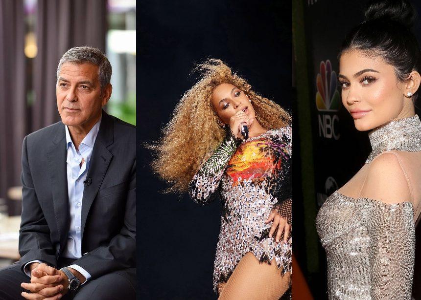 George Clooney – Kylie Jenner – Beyonce: Στη λίστα των επτά διάσημων με τα υψηλότερα έσοδα ανά ώρα   tlife.gr