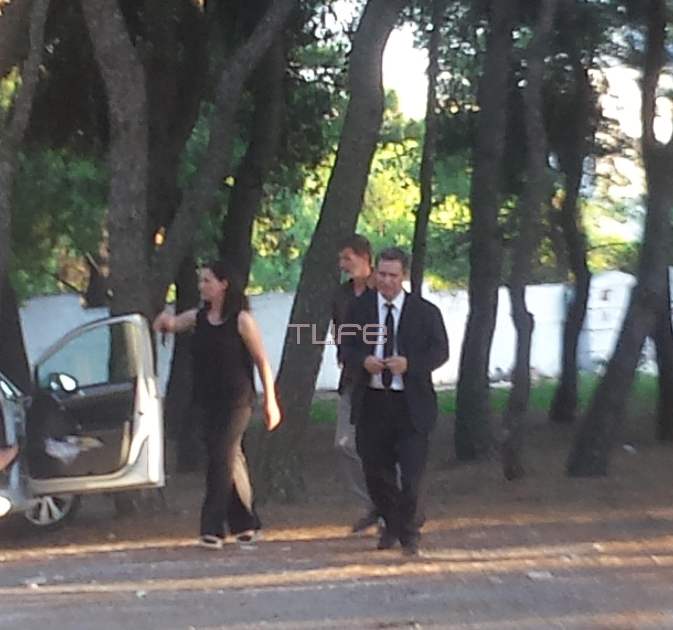 Νίκος Στεφανής: Συντετριμμένος στην κηδεία της συζύγου του, Ρίκας Βαγιάνη [pics] | tlife.gr