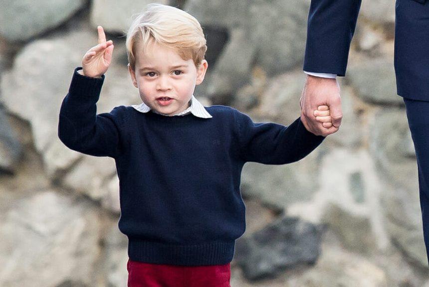 Πρίγκιπας George: Στη λίστα των πιο καλοντυμένων Βρετανών! | tlife.gr