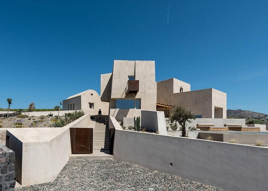 "Pyrgos House: Η υπερπολυτελής μονοκατοικία στη Σαντορίνη που ""κόβει"" την ανάσα | tlife.gr"