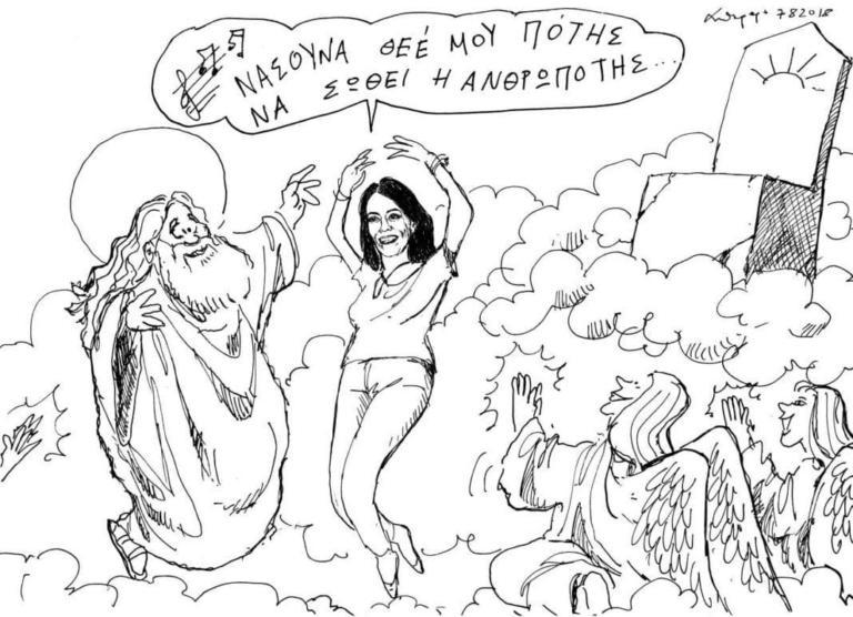 Ρίκα Βαγιάνη: Τα συγκλονιστικά λόγια του Σταύρου Θεοδωράκη και το εκπληκτικό σκίτσο | tlife.gr