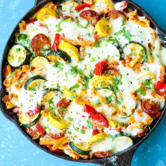 Πένες φούρνου με καλοκαιρινά λαχανικά | tlife.gr