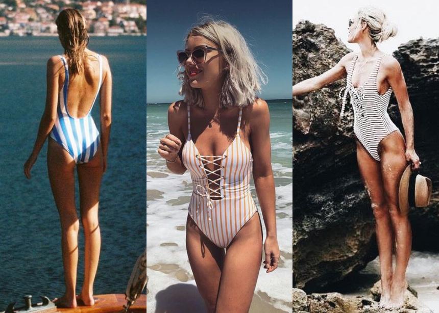 17d728a90cc Κλασική επιλογή για την παραλία, ποτέ μα ποτέ δεν φεύγει από τα huge summer  trends, τόσο σε ρούχα όσο και σε beachwear.