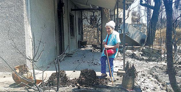 «Θεϊκό» σημάδι στο σπίτι της Τιτίκας Σαριγκούλη που παραδόθηκε στις φλόγες | tlife.gr