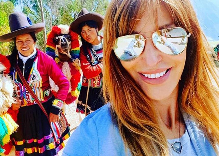 Βίκυ Χατζηβασιλείου: Απόδραση στο Περού [pics] | tlife.gr