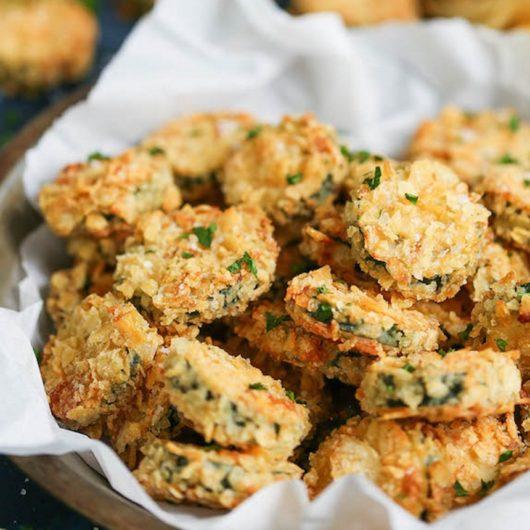 Τραγανές ροδέλες κολοκυθιού στο φούρνο | tlife.gr
