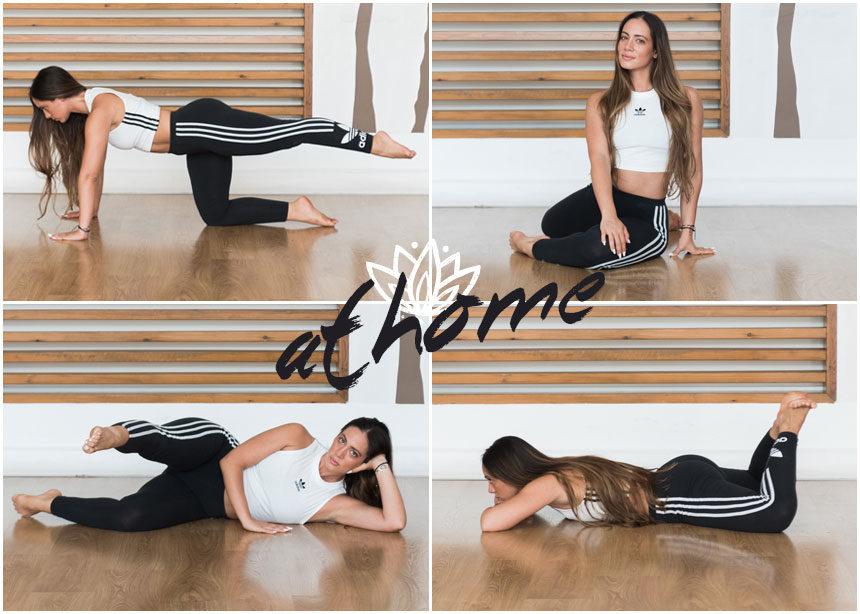 Γυμναστική στο σπίτι 2 σε 1: Ασκήσεις pilates για ανόρθωση γλουτών και καλλίγραμμα πόδια | tlife.gr