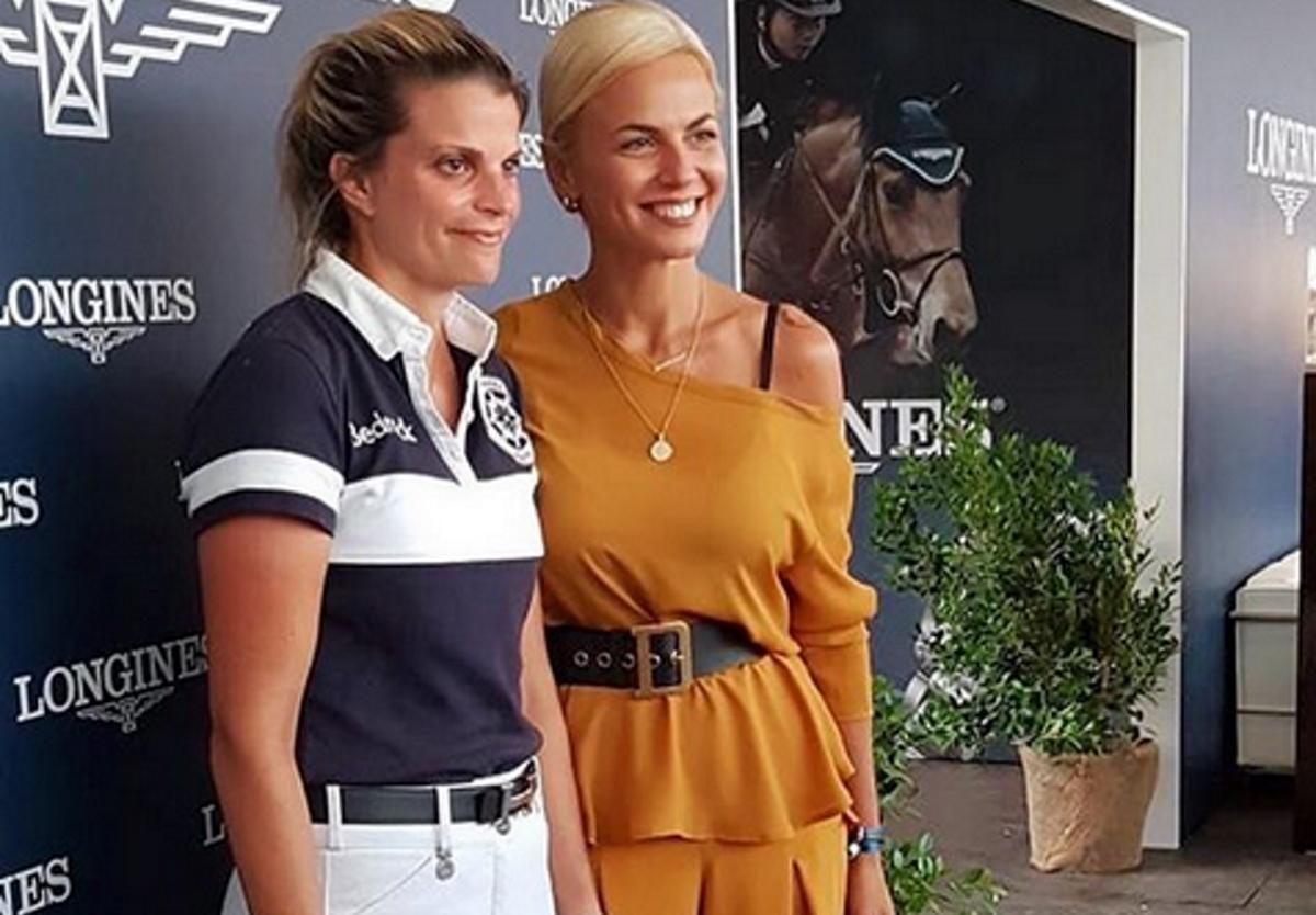 Χριστίνα Κοντοβά: Συνάντησε την Αθηνά Ωνάση σε ιππικούς αγώνες στη Ρώμη! [pics]