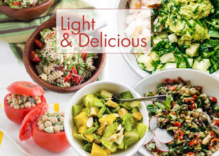 Light συνταγές: Οι 5 πιο γευστικές σαλάτες που θα θέλεις να τρως κάθε μέρα   tlife.gr