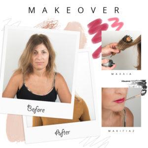 Αυτό το makeover είναι η απόδειξη ότι το μακιγιάζ και τα μαλλιά μπορούν να σε αλλάξουν εντελώς!