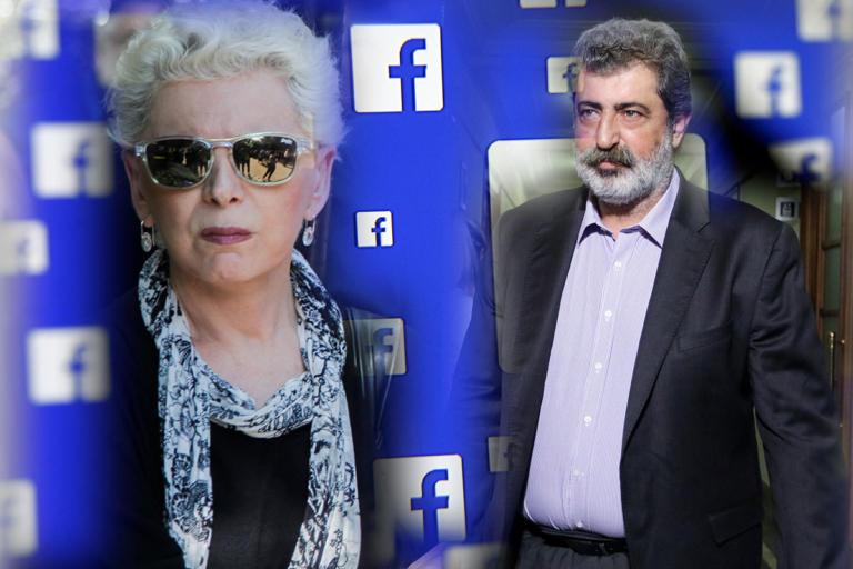 Έλενα Ακρίτα: Οργισμένο post κατά του Παύλου Πολάκη | tlife.gr