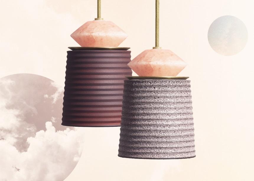 Αυτά τα φωτιστικά από ροζ αλάτι Ιμαλαΐων είναι ό,τι πιο stylish θα δεις σήμερα! | tlife.gr