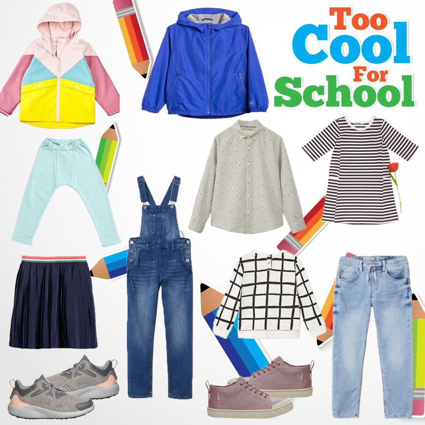fd750309ee2 Too Cool For School: Τα πιο stylish παιδικά ρούχα για την επιστροφή στα  θρανία!
