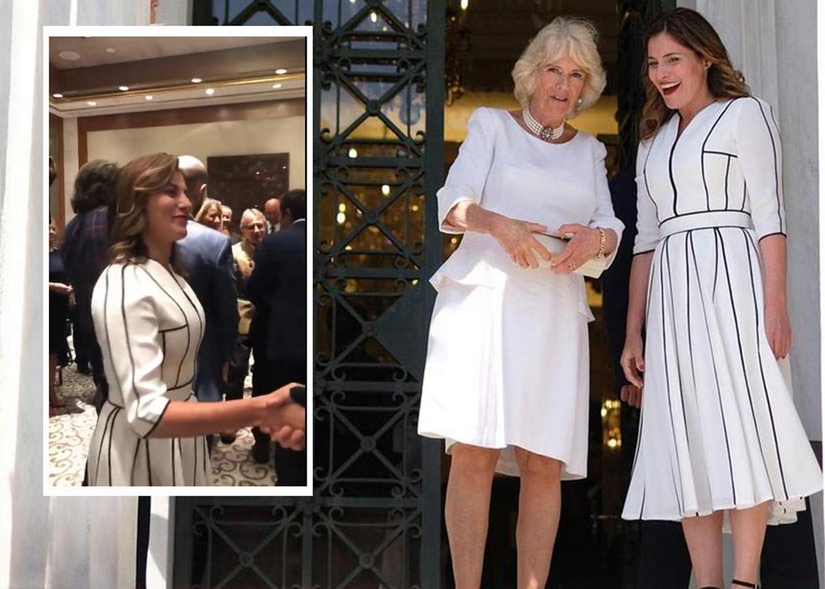 Μπέττυ Μπαζιάνα: Φόρεσε σε επίσημο δείπνο στις ΗΠΑ το ίδιο chic φόρεμα της συνάντησης με την Καμίλα! | tlife.gr