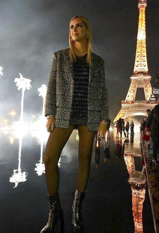 Η Chiara Ferragni με Saint Laurent | tlife.gr