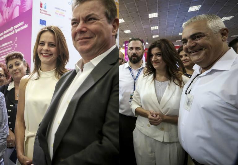 ΔΕΘ 2018: Λαμπερές στα «λευκά» οι Αχτσιόγλου – Νοτοπούλου! Εντυπωσιακές εμφανίσεις [pics] | tlife.gr