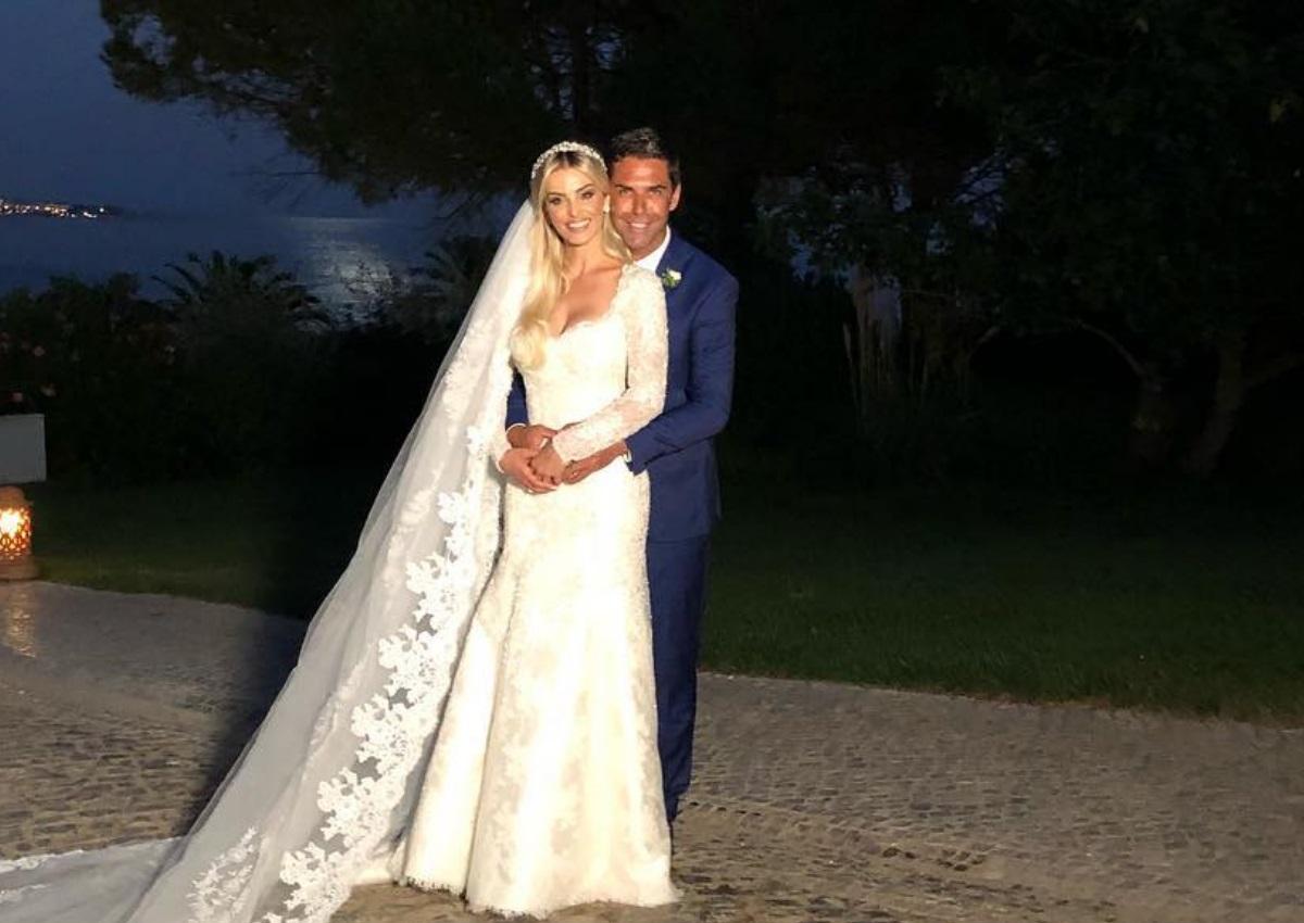 Παραμυθένιος γάμος για τον πρώην σύζυγο της Αθηνάς Ωνάση! Παντρεύτηκαν Ντόντα και Denize Severo [pics,vids]