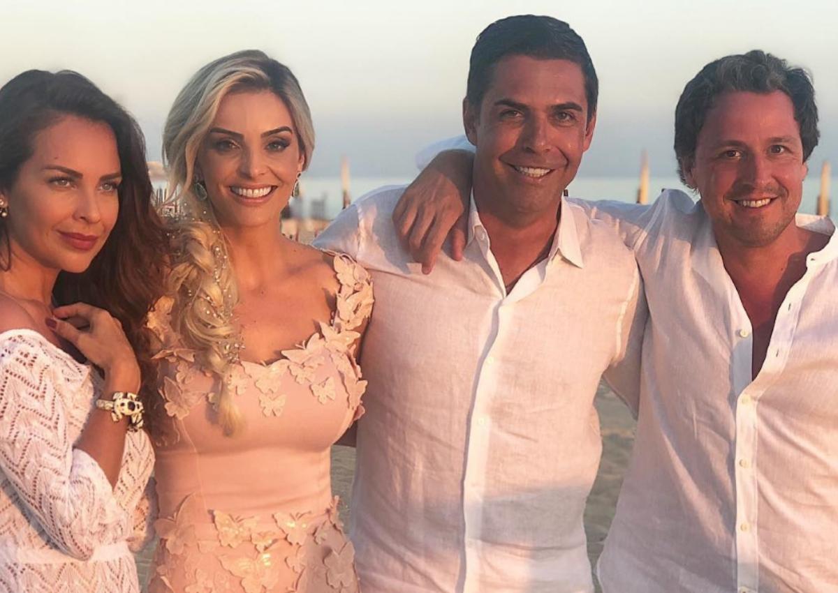 Το λαμπερό pre – wedding party του πρώην της Αθηνάς Ωνάση! Παντρεύονται Αλβάρο και Denize Severo