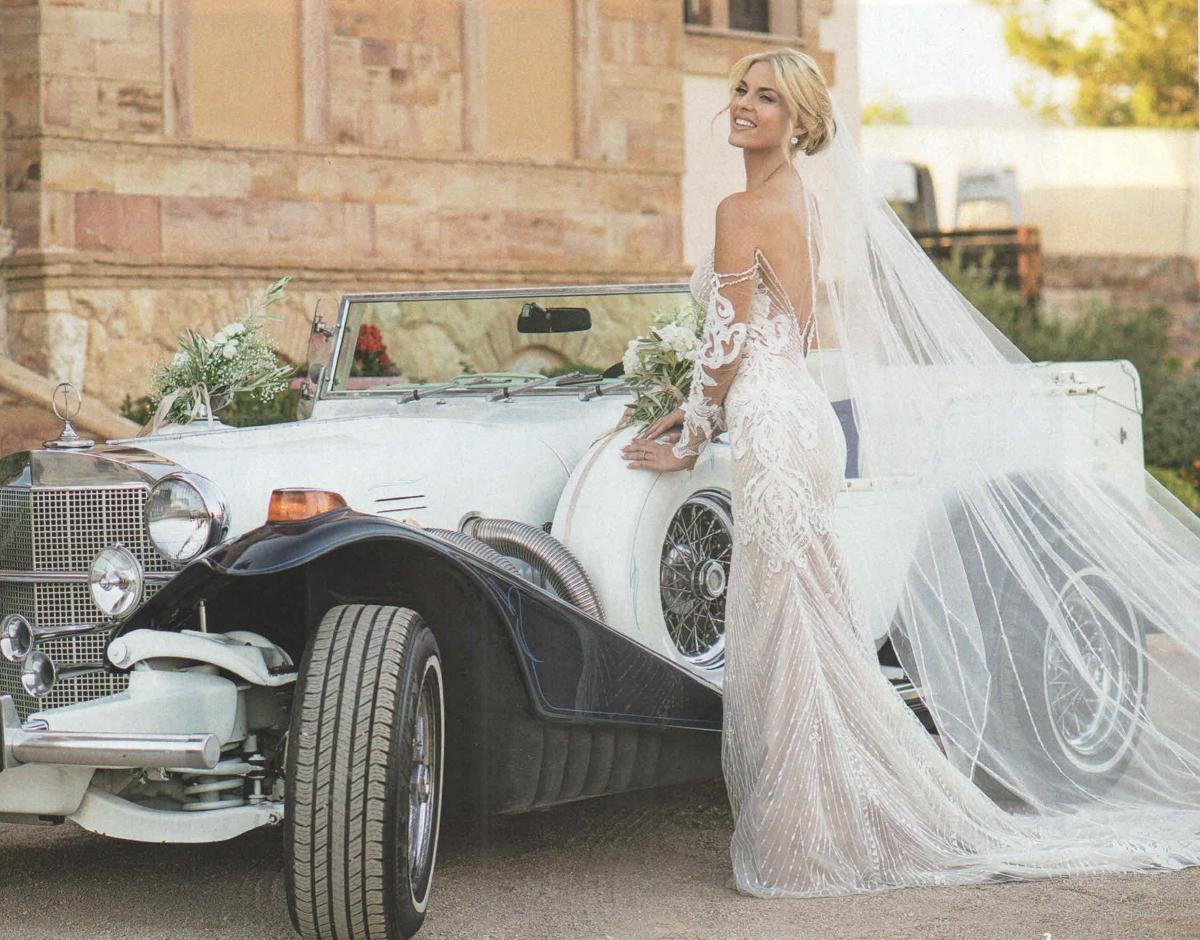 Μαντώ Γαστεράτου: Αδημοσίευτες φωτογραφίες από την προετοιμασία για το γάμο της! [pics] | tlife.gr