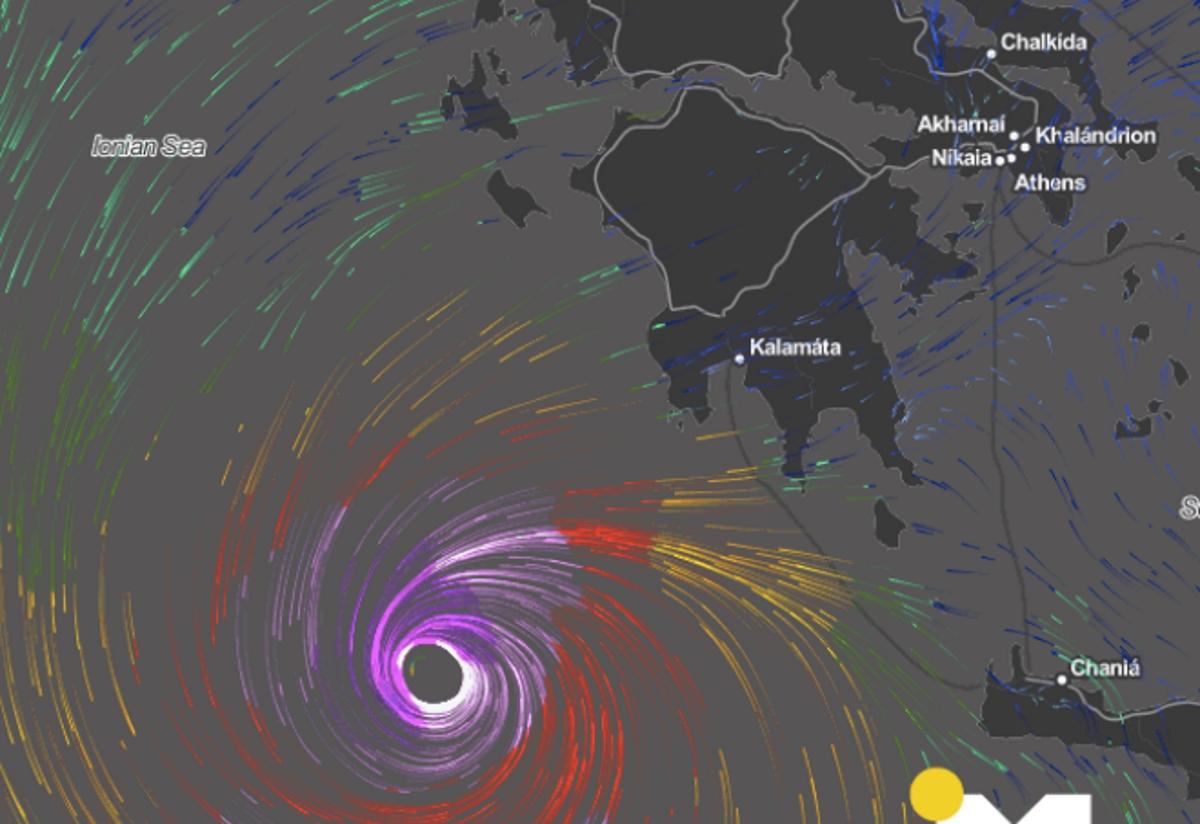 Καιρός: Το απόγευμα «χτυπάει» ο μεσογειακός κυκλώνας | tlife.gr