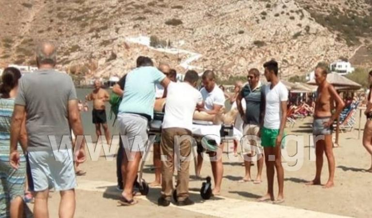 Σίφνος: Πέθανε ξαφνικά στην παραλία! Σοκαρισμένοι οι λουόμενοι [pics] | tlife.gr