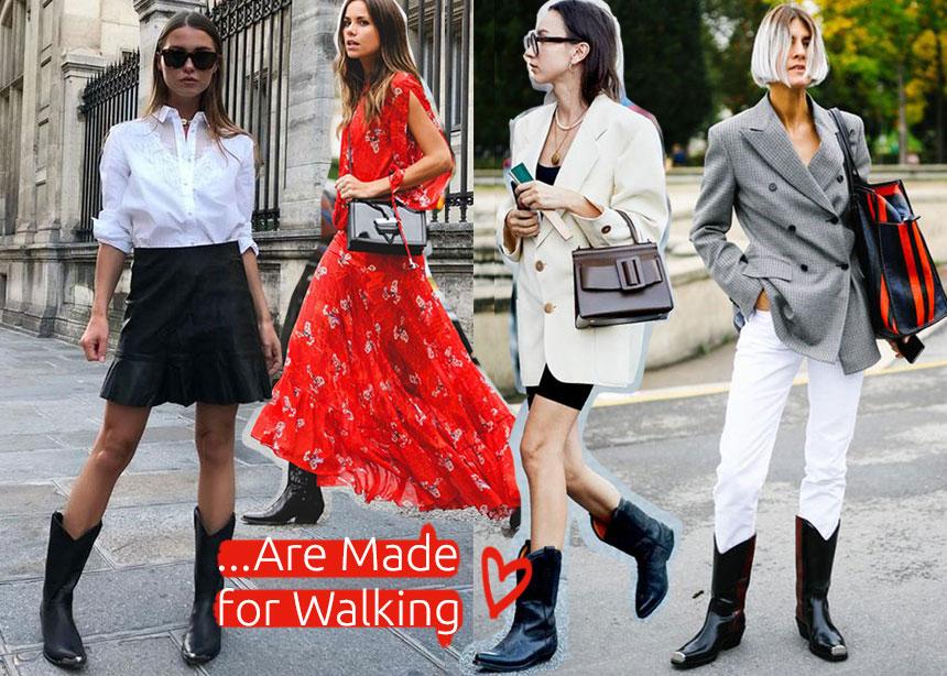 Cowboy boots: Συνδυασμοί και στιλιστικά μυστικά για να φορέσεις σαν expert αυτήν τη τάση στα παπούτσια