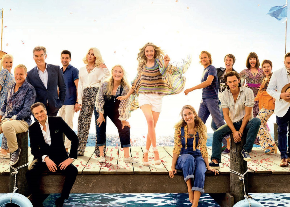 Mamma Mia! Here We Go Again: Στην κορυφή των πωλήσεων στην Ελλάδα | tlife.gr