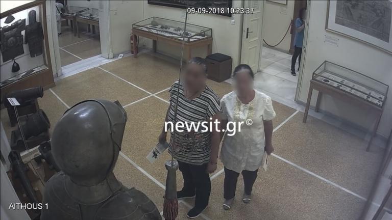 Έτσι έπιασαν τις δυο Βουλγάρες στο Εθνικό Ιστορικό Μουσείο – Καρέ, καρέ η επιχείρηση [pics]   tlife.gr