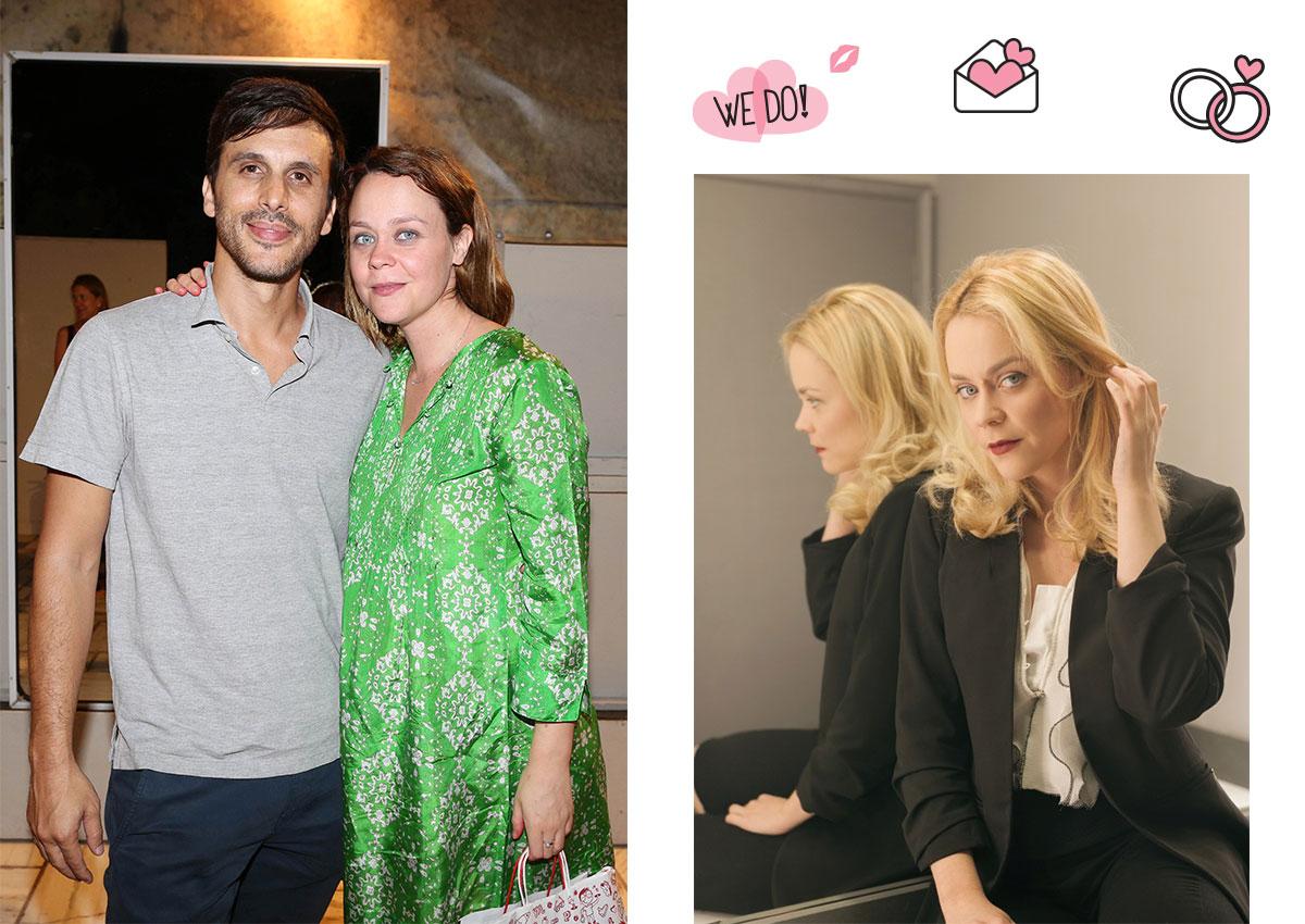 Λένα Παπαληγούρα: Παντρεύεται σήμερα τον αγαπημένο της με κουμπάρα την Ιωάννα Παππά!