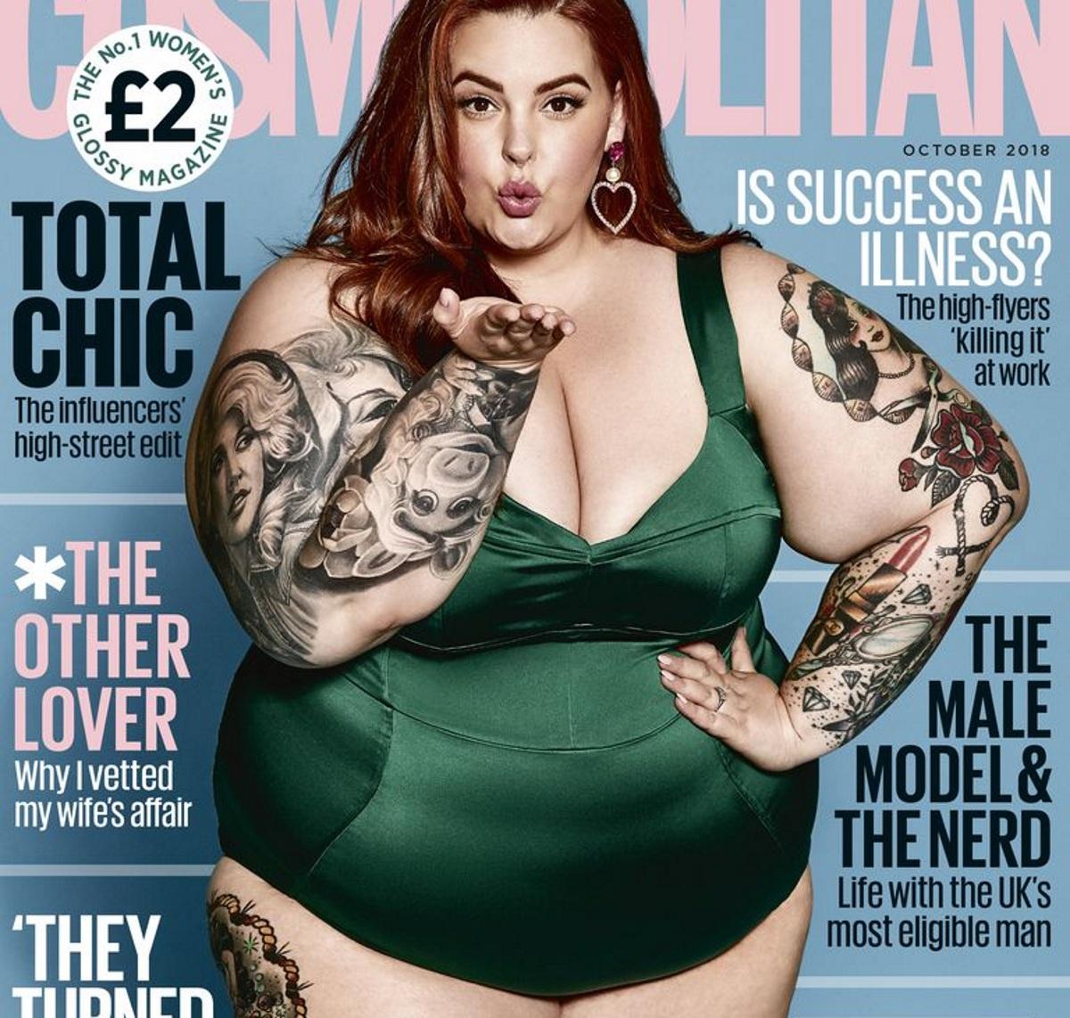 Το… βασιλικό εξώφυλλο της Tess Holliday στο βρετανικό Cosmopolitan και οι αντιδράσεις! | tlife.gr