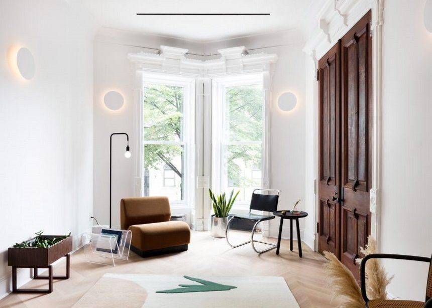 "Prospects Heights Townhouse: Το σύγχρονο σχεδιαστικό ""θαύμα"" στα θεμέλια ενός ιστορικού κτιρίου | tlife.gr"
