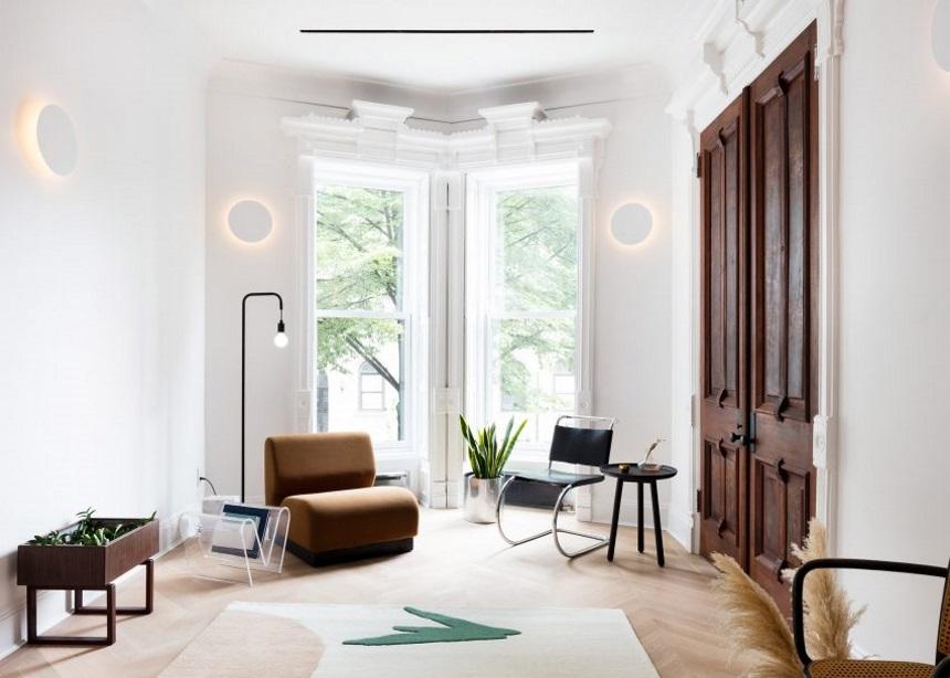 "Prospects Heights Townhouse: Το σύγχρονο σχεδιαστικό ""θαύμα"" στα θεμέλια ενός ιστορικού κτιρίου   tlife.gr"