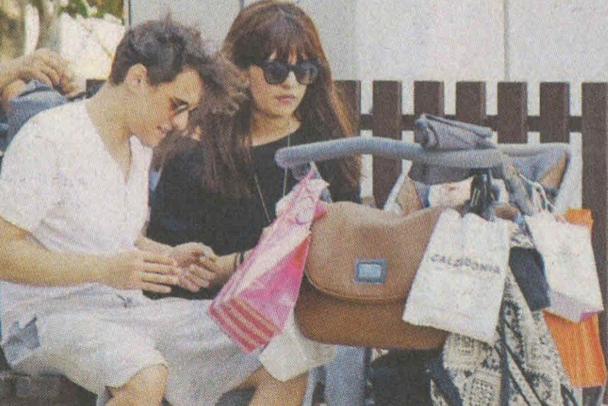 Σταύρος Σβήγκος: Βόλτες με τη σύζυγό του και τον τεσσάρων μηνών γιο τους! [pics]   tlife.gr