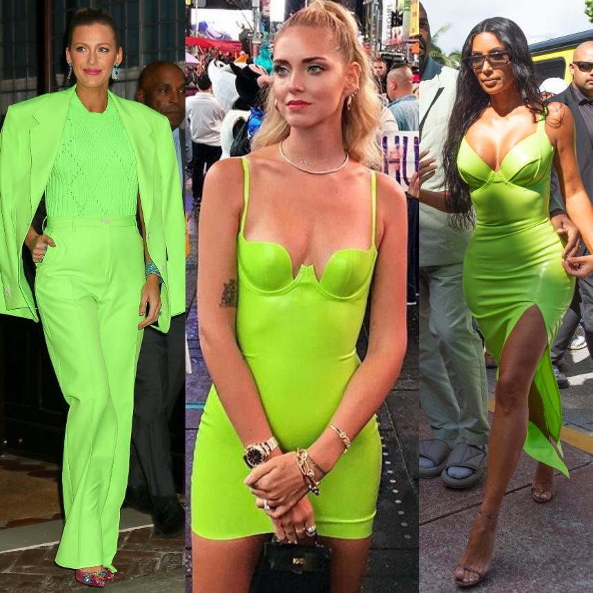 Οι σταρ επιλέγουν neon πράσινο | tlife.gr