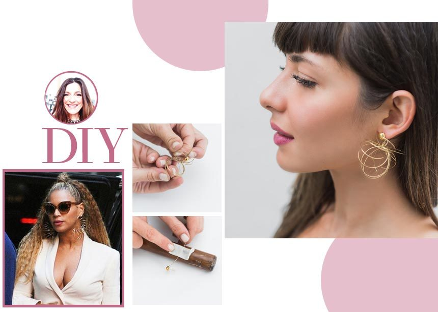 DIY: Βήμα – βήμα πως να φτιάξεις τα σκουλαρίκια – Slinkys που φόρεσε η Beyonce | tlife.gr
