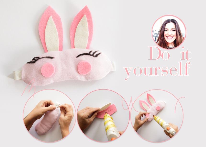 DIY: Φτιάξε μόνη σου μια cute μάσκα ύπνου για stylish cocoonings και… πολλά post στο instagram | tlife.gr