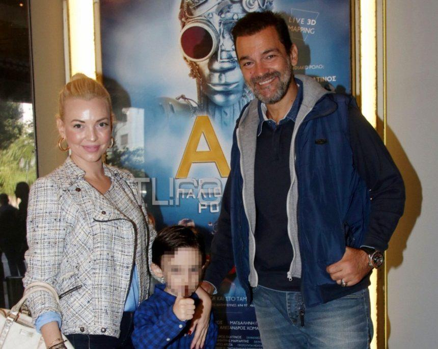 Κωνσταντίνος Καζάκος – Ιωάννα Μαρτζούκου: Στο θέατρο με τον γιο τους Ιάσονα! [pics] | tlife.gr