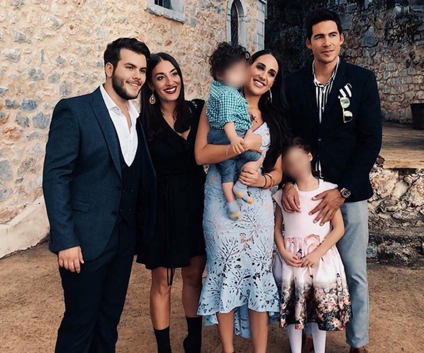 Μαλού Κυριακοπούλου: Βάφτισε τον 11 μηνών γιο της στην Καλαμάτα! [pics]   tlife.gr